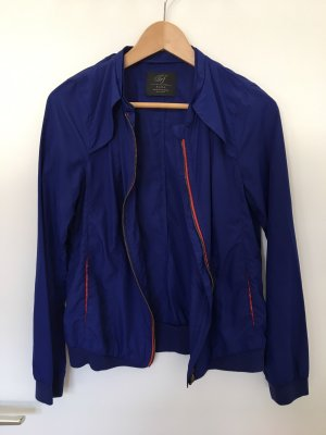 Zara Trafaluc Kort jack blauw-rood