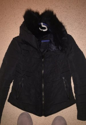 Zara Chaqueta de plumón negro