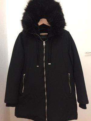 Zara Woman Winter Jacket black