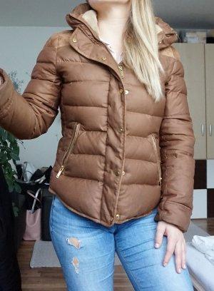 Zara Winterjacke braun