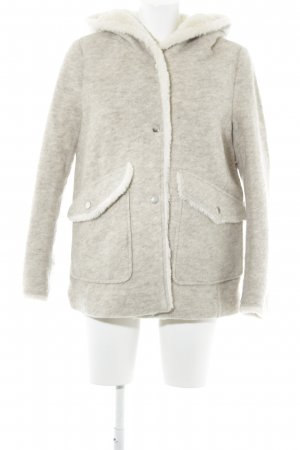 Zara Winter Jacket flecked casual look