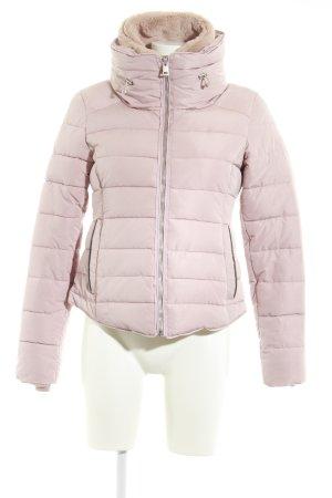 Zara Veste d'hiver rosé style décontracté