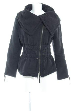 Zara Veste d'hiver noir style mode des rues