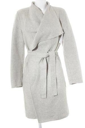 Zara Manteau d'hiver gris clair style décontracté