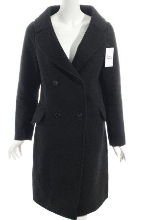 Zara Wintermantel schwarz klassischer Stil