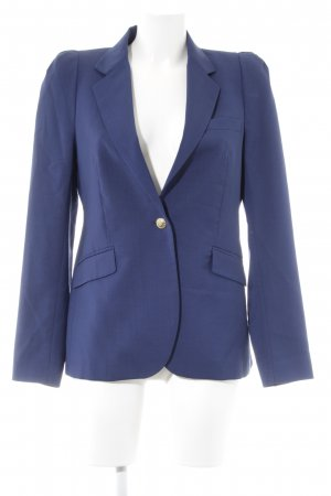 Zara Woll-Blazer dunkelblau Business-Look