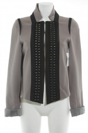 Zara Wool Blazer grey brown-black casual look