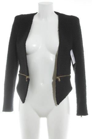 Zara Wool Blazer black casual look