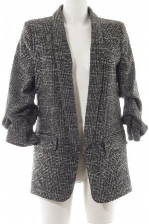 Zara Wool Blazer black-grey casual look
