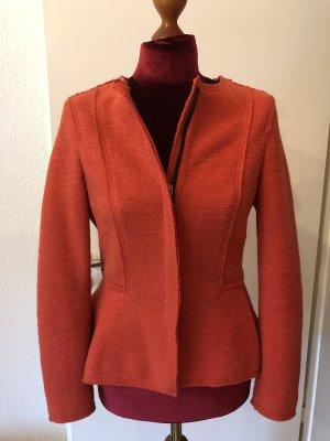 Zara Basic Blazer in lana multicolore
