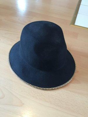 Zara Woolen Hat black wool