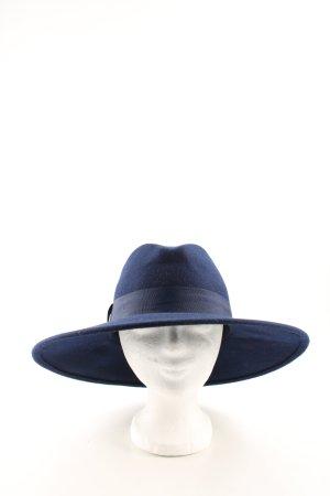 Zara Woolen Hat blue business style