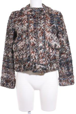 Zara Veste en laine moucheté style rétro