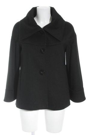 Zara Veste en laine noir style décontracté
