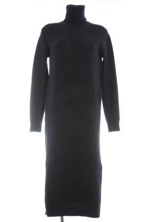 Zara Vestito di lana blu scuro soffice