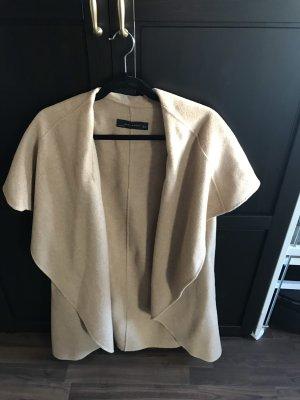 Zara Abrigo de lana camel