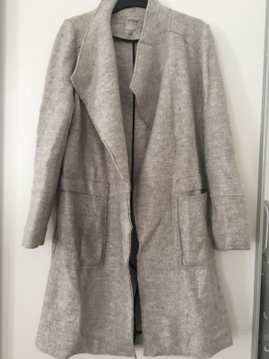 Zara Wool Coat light grey-grey