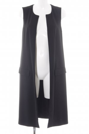 Zara Abrigo de lana negro estilo «business»