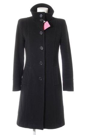 Zara Manteau en laine noir style décontracté