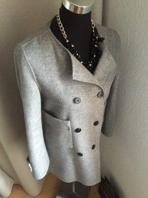 Zara Veste en laine gris