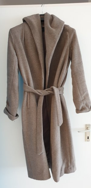 Zara Giacca di lana grigio