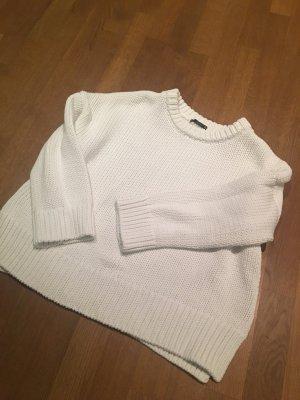 Zara Wollpulli Weiß