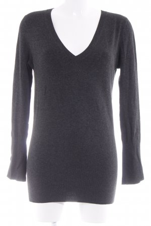 Zara Wollpullover anthrazit Casual-Look