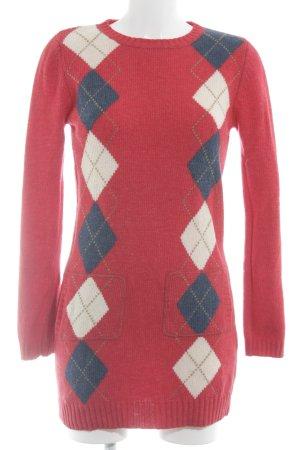 Zara Wollen trui geruite print klassieke stijl