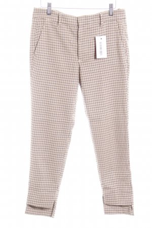 Zara Woman 3/4 Length Trousers houndstooth pattern dandy style