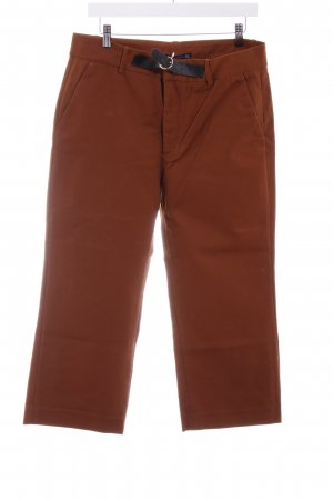 Zara Woman 7/8-Hose cognac Casual-Look