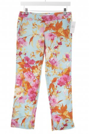 Zara Woman 7/8-Hose florales Muster Beach-Look