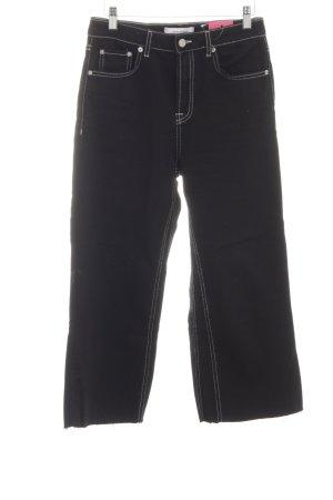 Zara Woman 7/8 Length Jeans black casual look