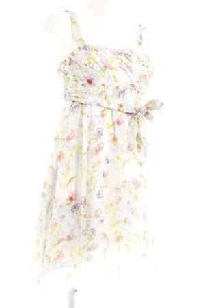 Zara Woman A-Linien Kleid florales Muster extravaganter Stil