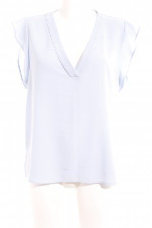 Zara Woman ärmellose Bluse himmelblau Elegant