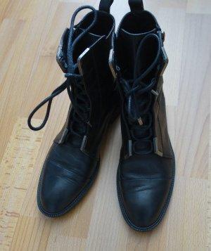 Zara Woman Ankle Boots Stiefel Gr. 39 schwarz Stiefeletten Schuhe