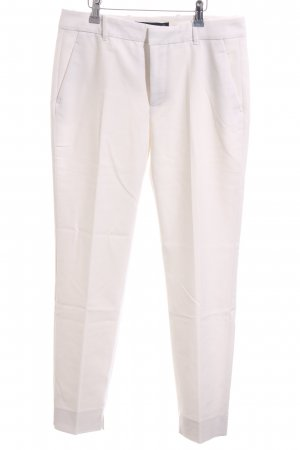 Zara Woman Suit Trouser white business style