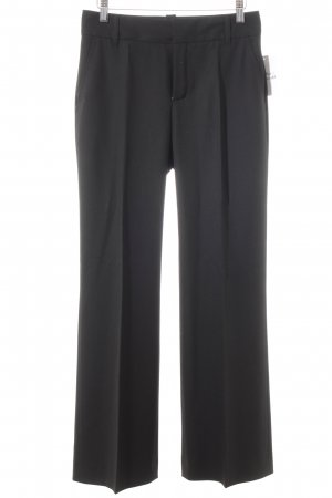 Zara Woman Anzughose schwarz Business-Look