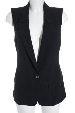Zara Woman Herenvest zwart Britse uitstraling