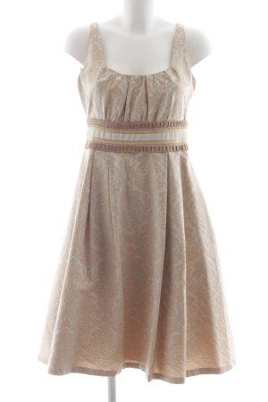 Zara Woman Vestido babydoll estampado floral estilo clásico