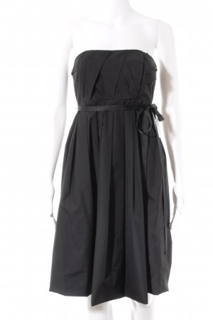 Zara Woman Babydollkleid schwarz Elegant