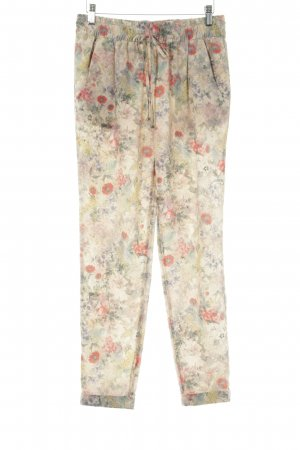 Zara Woman Baggy Pants Blumenmuster Romantik-Look