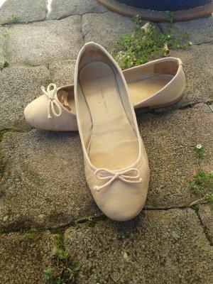 Zara woman Ballerinas, apricotfarben, kaum getragen