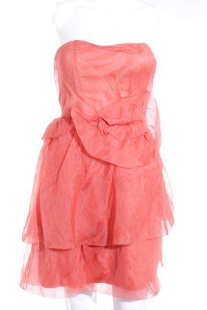 Zara Woman Bandeaukleid apricot Elegant