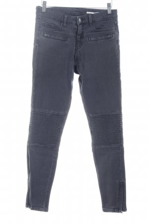 Zara Woman Jeans da motociclista grigio scuro Stile ciclista