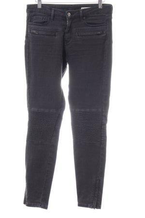 Zara Woman Biker jeans zwart casual uitstraling