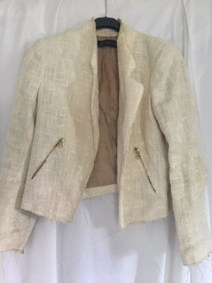 Zara Woman Wollen blazer room-wolwit