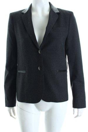 Zara Woman Blazer dunkelgrau meliert Business-Look