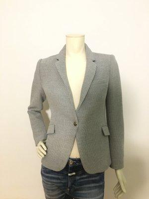 Zara Woman Blazer Jacket grau Stoff Größe L