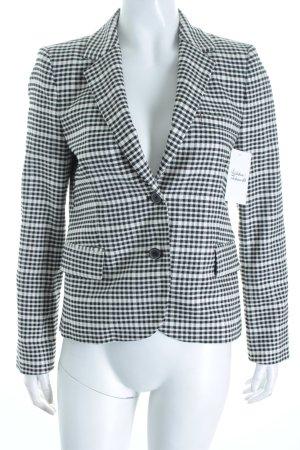 Zara Woman Blazer schwarz-wollweiß Karomuster Business-Look