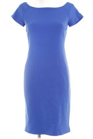 Zara Woman Bleistiftkleid blau Business-Look
